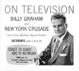 Billy Graham on TV
