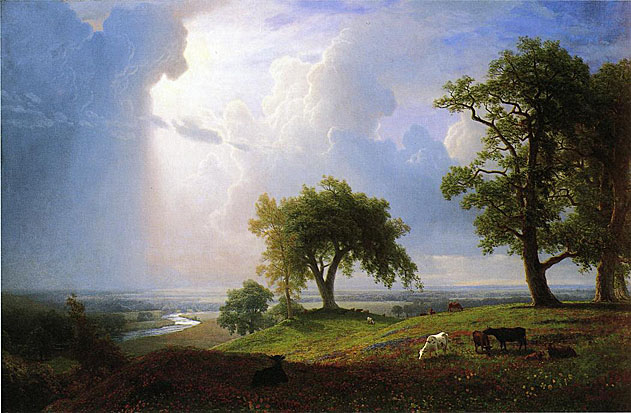 This image has an empty alt attribute; its file name is Bierstadt-Painting-E.jpg